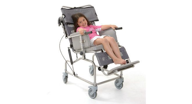Osprey Paediatric Tilt in Space Shower Chair