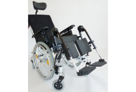 BES Rehab Weely Essential Wheelchair Front
